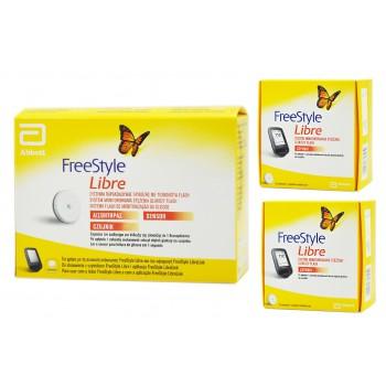 Pakiet startowy FreeStyle Libre (czytnik+2 sensory)