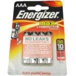 Baterie Energizer AAA do pomp MiniMed MMT - 625